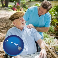 hawaii a hospice care provider and an elderly patient