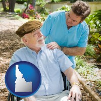 idaho a hospice care provider and an elderly patient