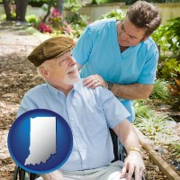 indiana a hospice care provider and an elderly patient