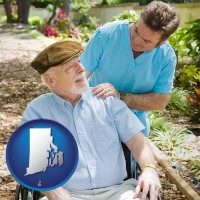 rhode-island a hospice care provider and an elderly patient