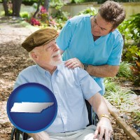 tn a hospice care provider and an elderly patient